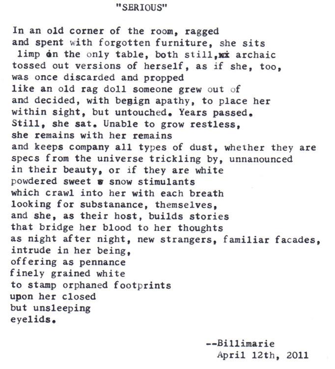Shortest poem about sex