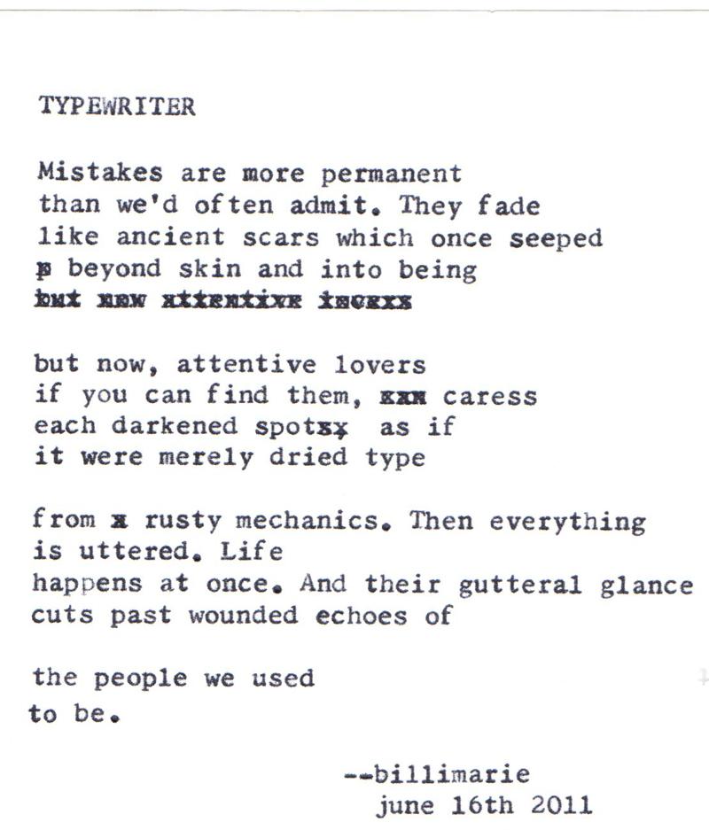 forgiveness | typewriter poetry
