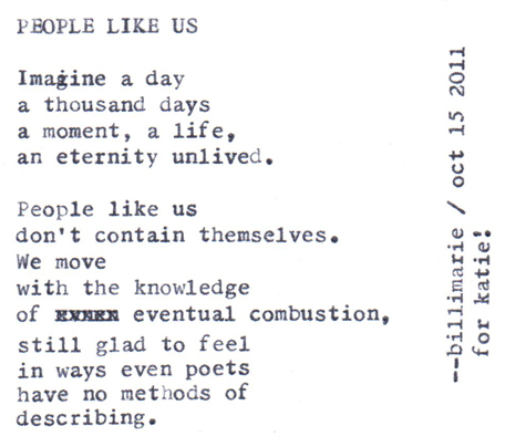 Poems About People